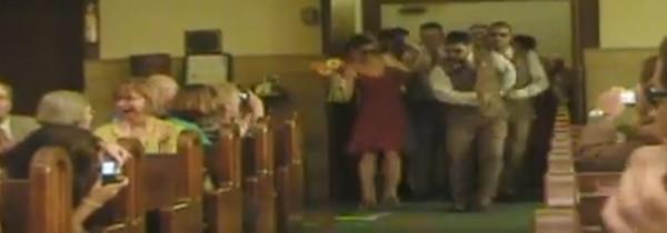 Una original entrada a la Ceremonia