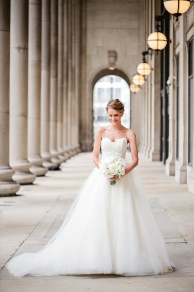 Vestido de novia estilo princesa