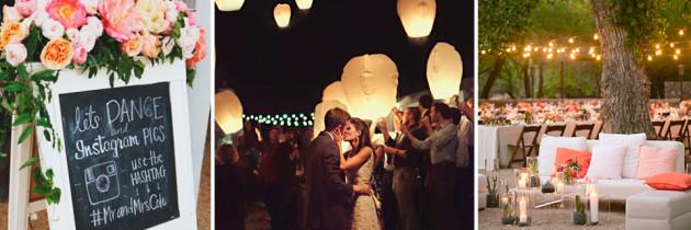 30 ideas para una boda original – Parte II