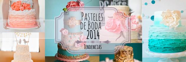 Pasteles de Boda 2014
