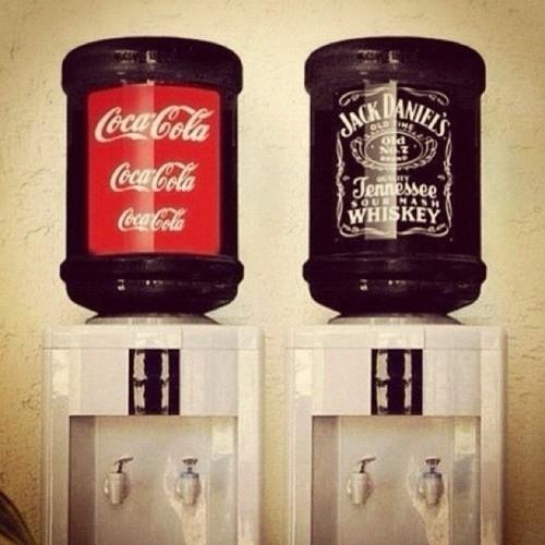 Idea Original para servir  bebidas en la fiesta