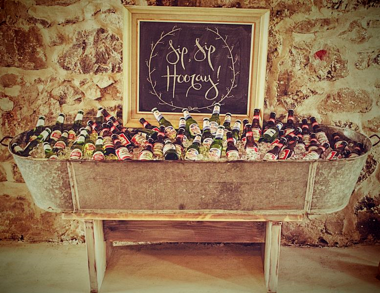el bar de la boda ideas originales para enfriar las bebidas de la fiesta el blog de una novia