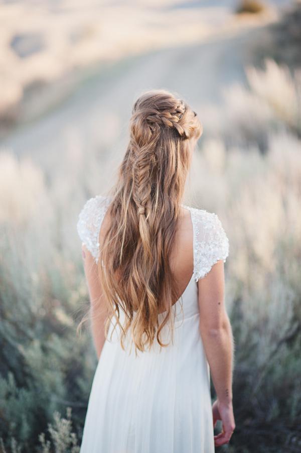 Trenzas flojas para cabello largo