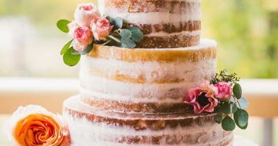 15 Pasteles de Boda Desnudos que te encantarán
