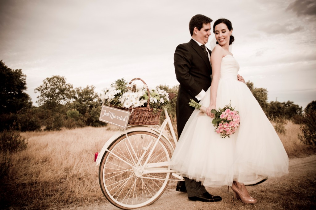 Vestido de novia corto Rosa Clara