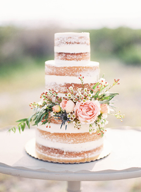 Naked Cake - Pastel de Boda