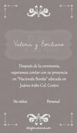 Texto pase de una boda | Anatomía de la invitación de boda