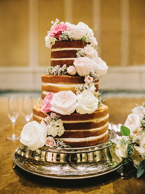 Tortas Para Matrimonio Rustico : Pasteles de boda desnudos que te encantarán el