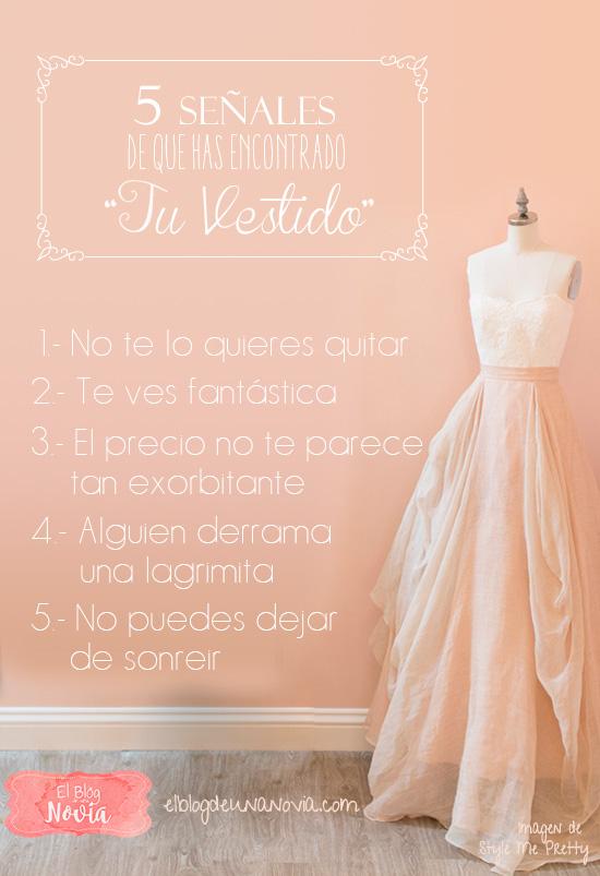 """5 señales de que has encontrado """"Tu Vestido"""""""