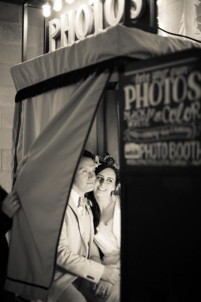 Cabina fotografica para la Boda