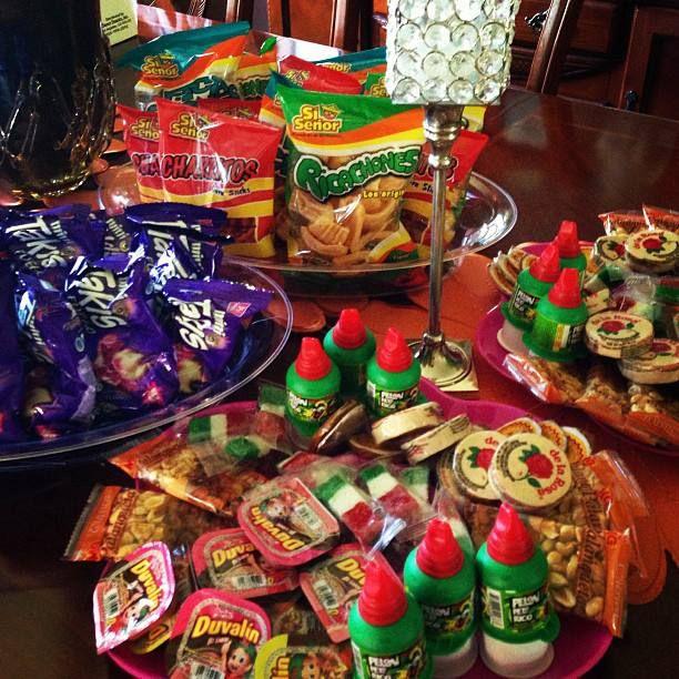 Dulces mexicanos para  los invitados