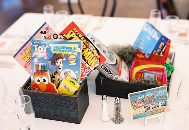 Juegos de mesa para los niños en la Boda