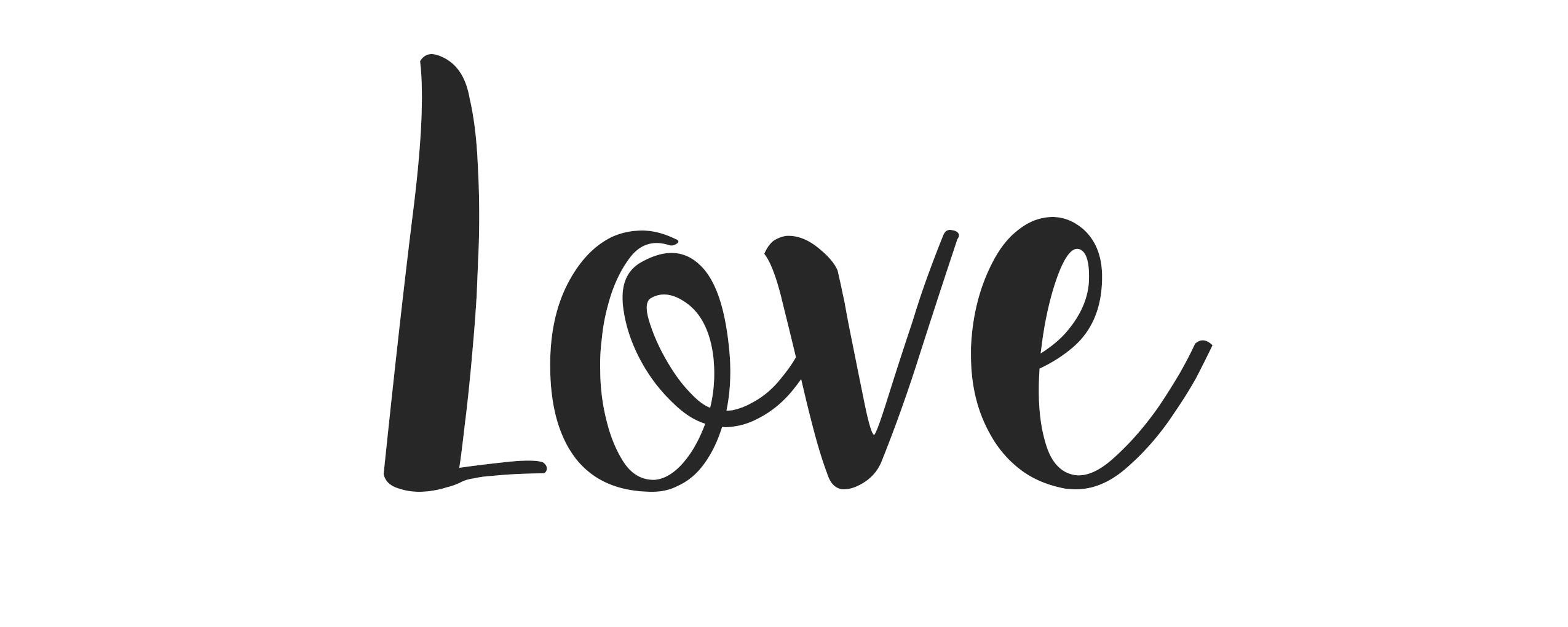Love en manuscrita