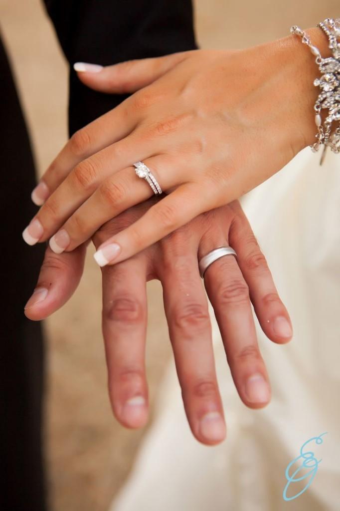 Manicure de novia frances