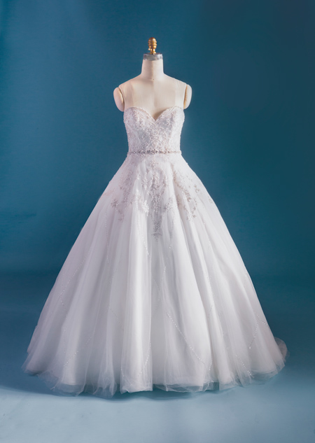 Vestido de Novia Disney modelo Tiana  2015-