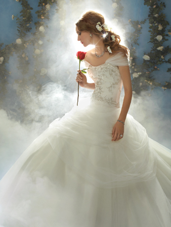 Vestido de Novia Disney por Alfred Angelo modelo Belle