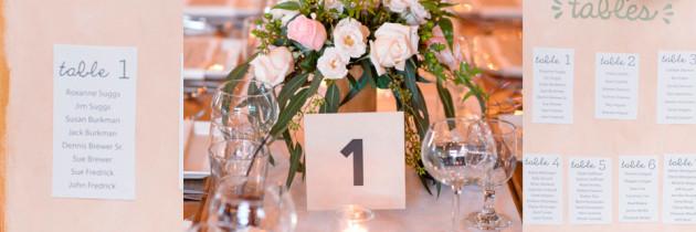 10 Razones por las que te conviene Planear el Acomodo de los Invitados