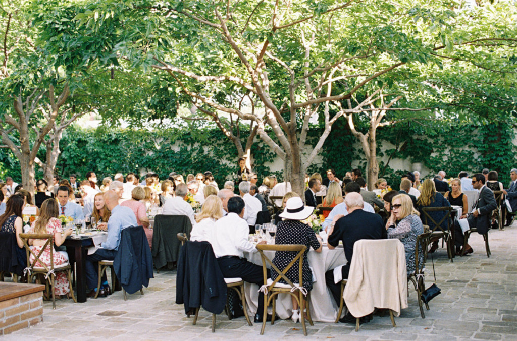 Acomodo de los invitados en las mesas de la Boda