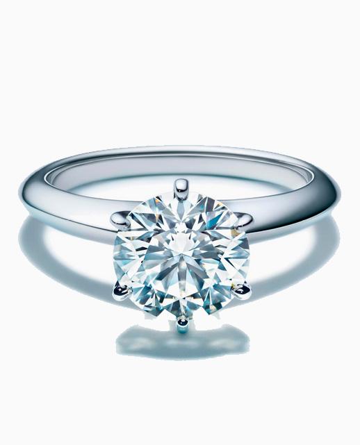 Anillo de compromiso Tiffany