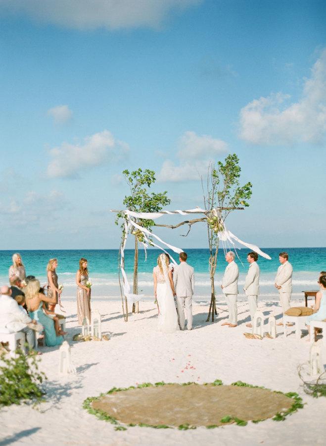 Una Boda en Playa te permite tener una  Boda íntima con pocos invitados