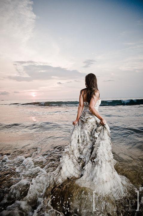 Ensucia tu vestido de novia