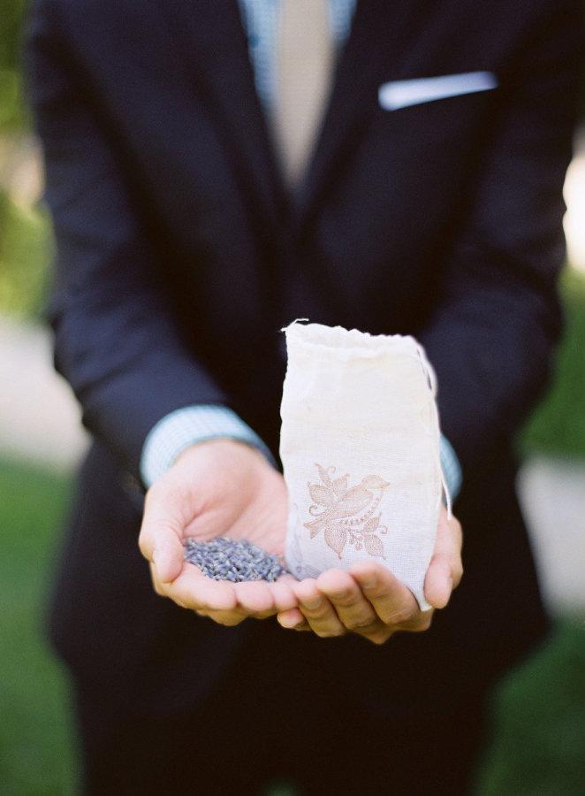 Lavanda- Alternativa al arroz de boda