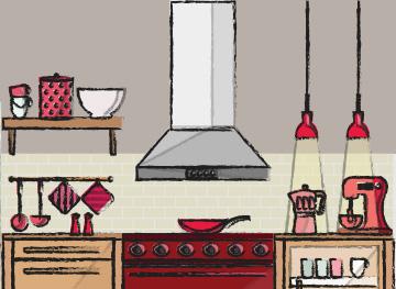Prepara la cocina para los futuros esposos