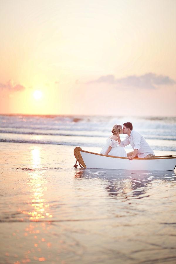 Una boda en la playa es más romántica