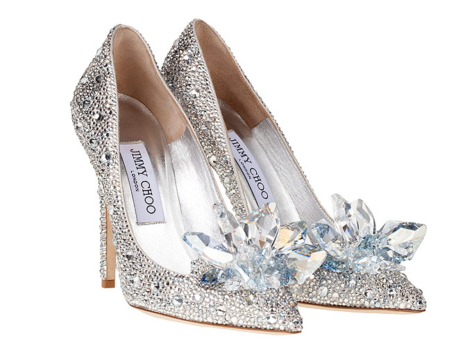 Zapatos de novia con brillos de Jimmy Choo