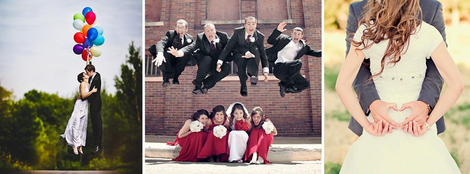 Divertidas ideas para fotos de boda originales el blog de una novia - Bodas originales ideas ...