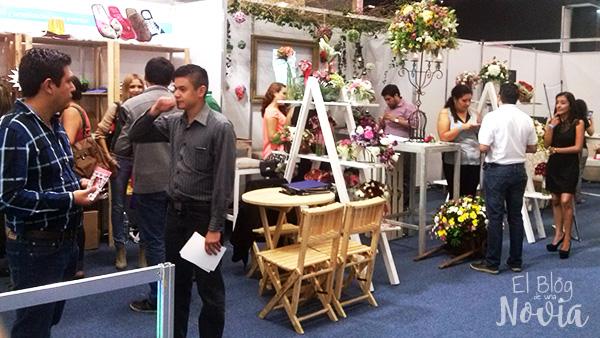 Flores en Expo tu Boda