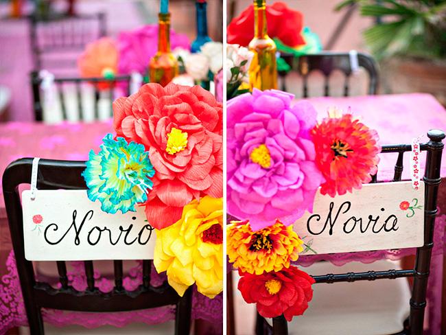 Ideas para una boda estilo mexicano el blog de una novia las sillas de los novios en una boda mexicana altavistaventures Gallery