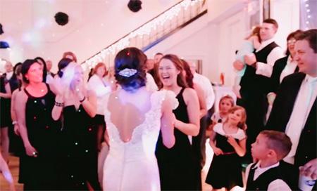 Propuesta de matrimonio en la boda