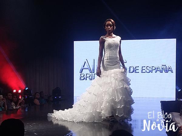 Vestido de Novia estilo sirena - Aires de España