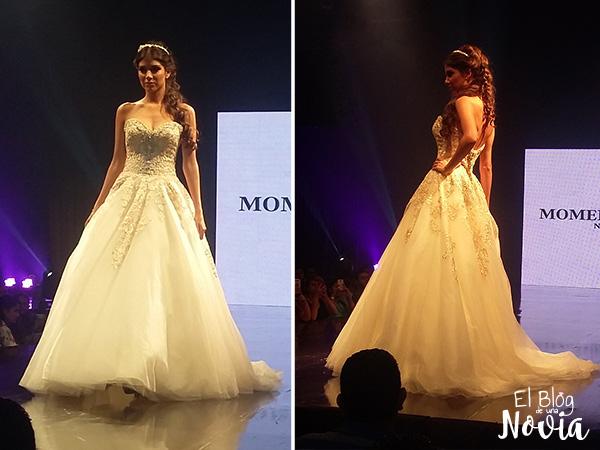 Vestido de Novia estilo Princesa - Momento Barcelona