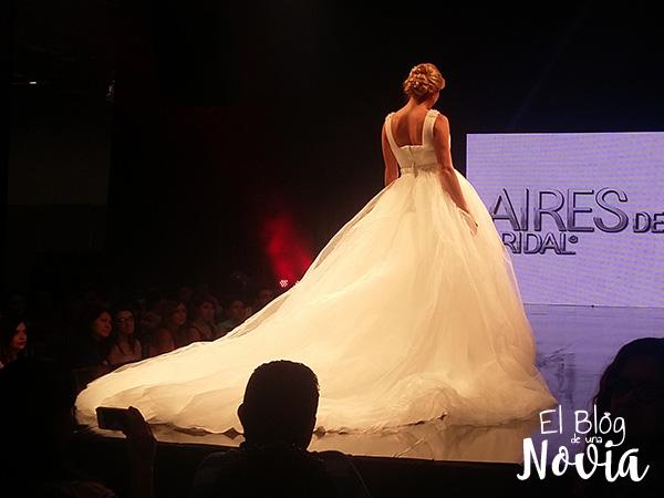 Vestido de Novia estilo Princesa - Aires de España