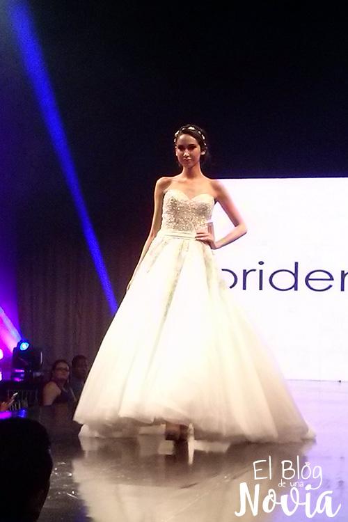 Vestido de Novia escote corazón - Briden Formal