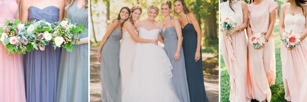 Vestidos de Damas Desiguales – Reglas básicas para lograr el Look Perfecto