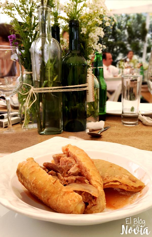 Tortas ahogadas para ofrecer en boda estilo mexicano