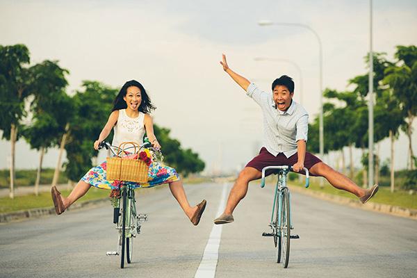5 Ideas de utilería para la sesión de fotos casual: Bicis