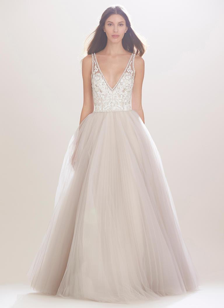 Vestido de Novia estilo Princesa de Carolina Herrera
