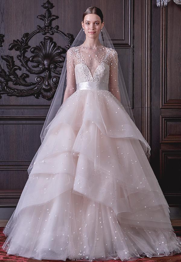 Vestido de Novia estilo princesa de Monique Lhuillier