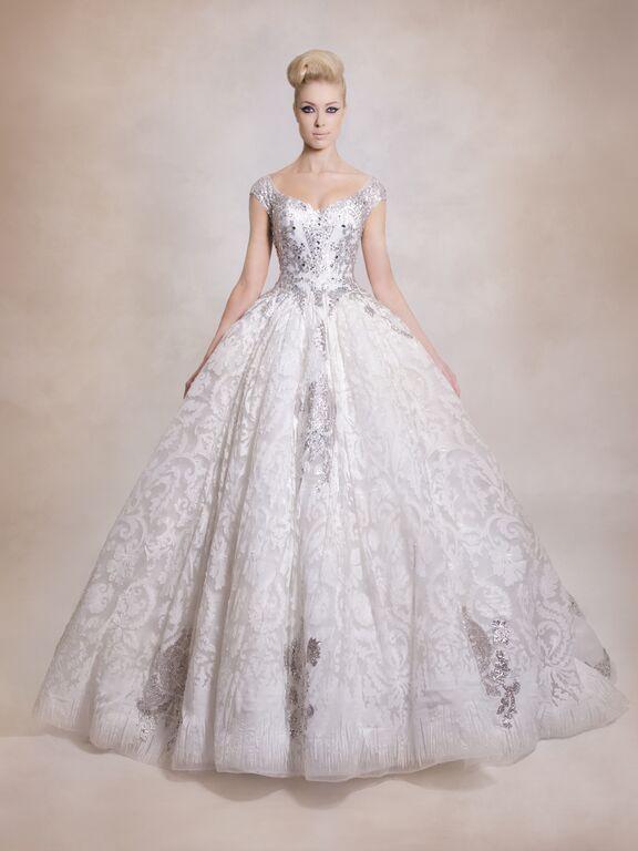 Vestido de Novia estilo princesa de Dar Sara