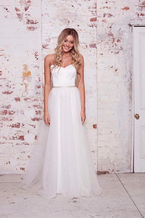 Vestio de Novia estilo princesa de Karen Willish Holmes 2016