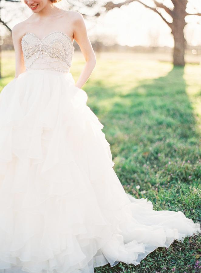 Vestido de novia estilo princesa de Watters