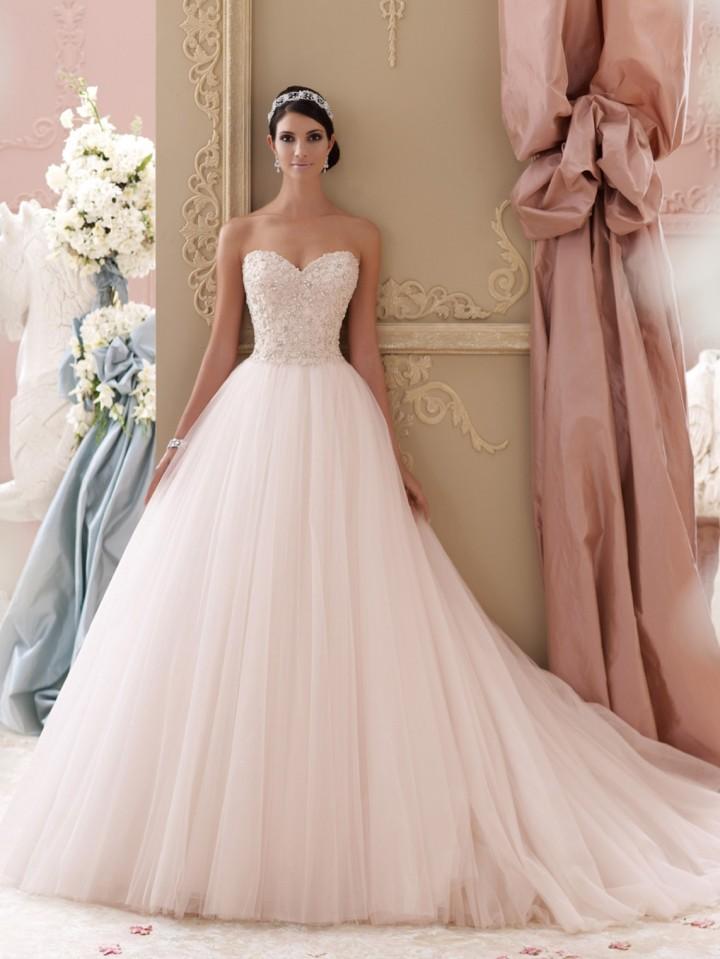 Vestido de novia princesa David Tutera