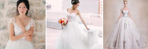 21 Vestidos de Novia estilo Princesa