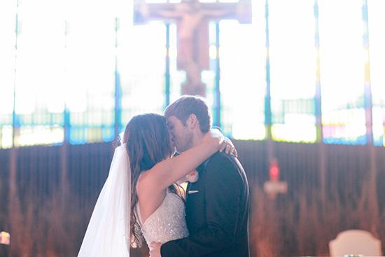 Preparativos para la boda por la iglesia
