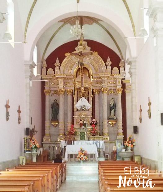 Parroquia de La Virgen del Rosario en Mezquital del Oro Zacatecas