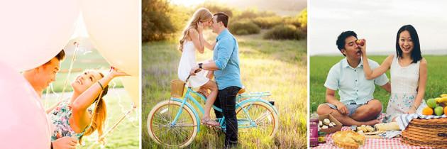 5 Ideas de utilería para la sesión de fotos en pareja